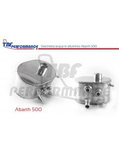 Abarth 500 aluminum water tank