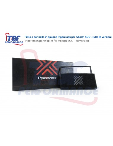 Abarth 500 Pipercross panel filter