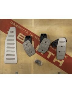 Abarth 500 aluminum pedals set