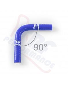 D. 10 mm curva 90° silicone
