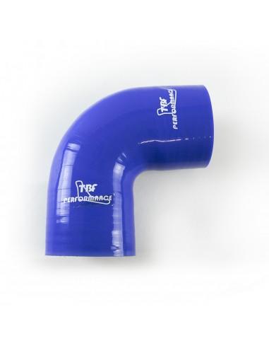 D. 60 mm curva 90° silicone