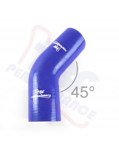 D. 76 mm 45° silicone curve