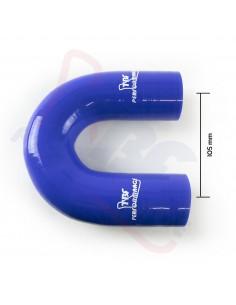 D. 16 mm curva 180° silicone